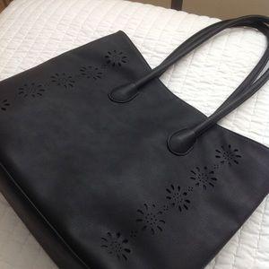 black tote bag NWOT
